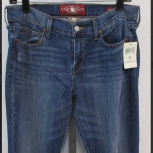 Lucky Brand Sophia straight leg ankle jeans NWT